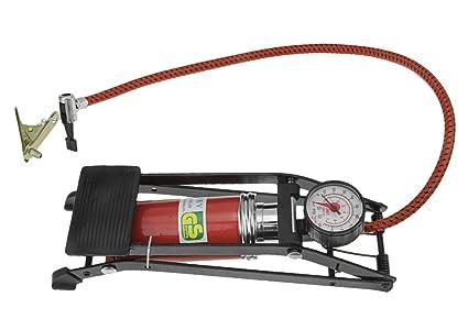 RUIXIB Muti - Bomba de pie con manómetro portátil Bomba de ...