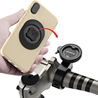 Mountain Bike Phone Holder with Quick Mount,Universal Aluminum Alloy GPS Bracket Ultra-Lock System Riding Clip Stand,MTB…