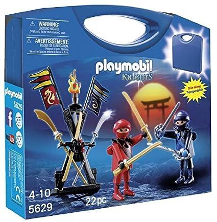 Amazon.com: PLAYMOBIL Ninja Carrying Case Playset [parallel ...