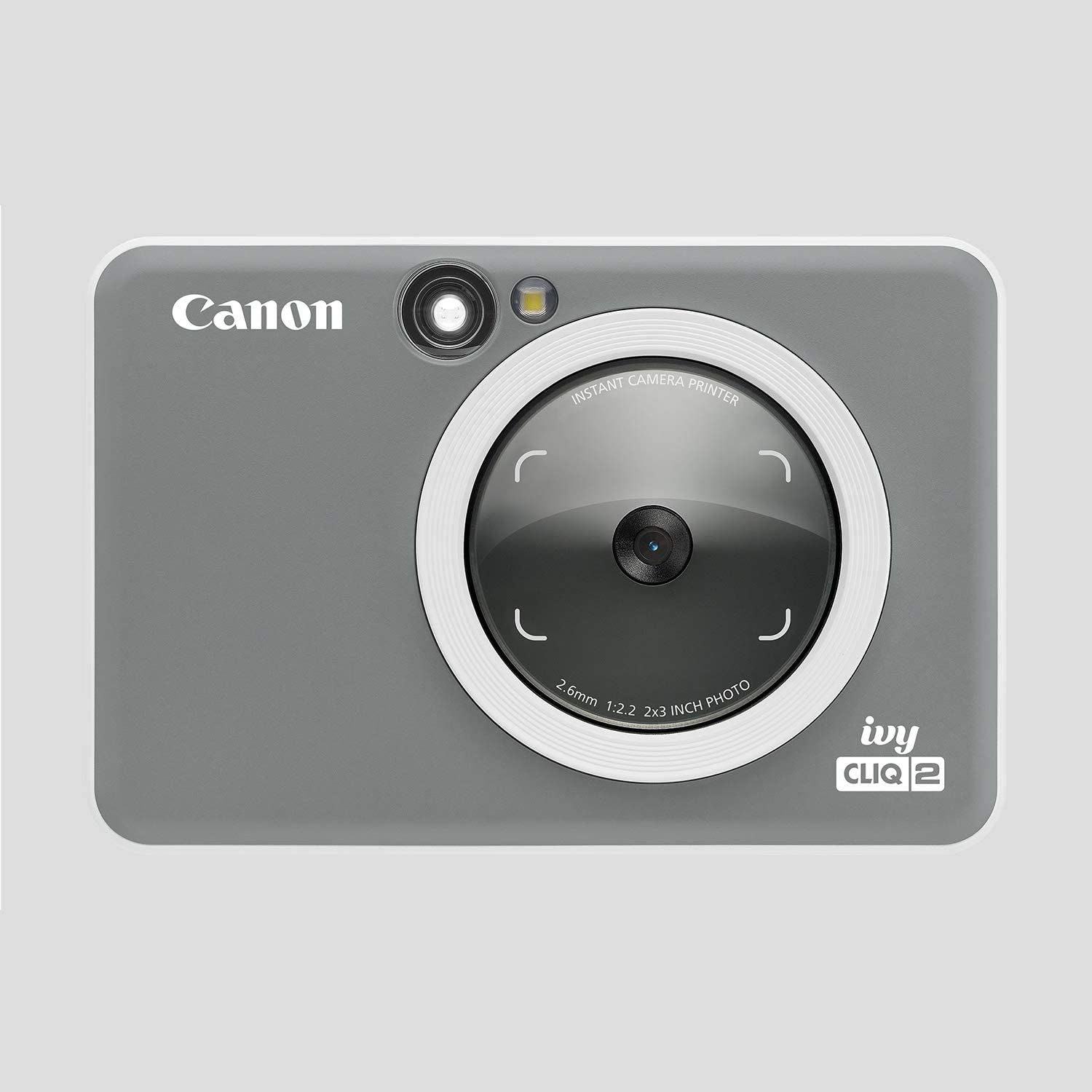 Canon Ivy CLIQ+ 2 Instant Camera Printer Midnight Navy Canon Zink Photo Paper Pack 50 Sheets Smartphone Printer