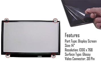 AJParts Pantalla LED LCD de Repuesto para Lenovo Yoga 500 ...