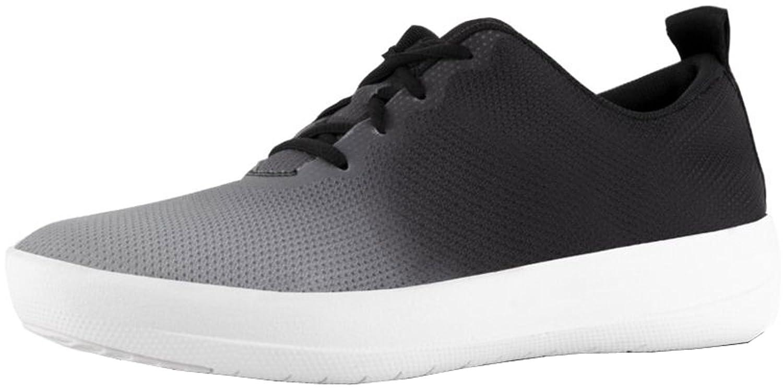 FitFlop Womens Neoflex Slip-On Sneakers B07B24Q8KS 6 B(M) US|Black/Soft Grey