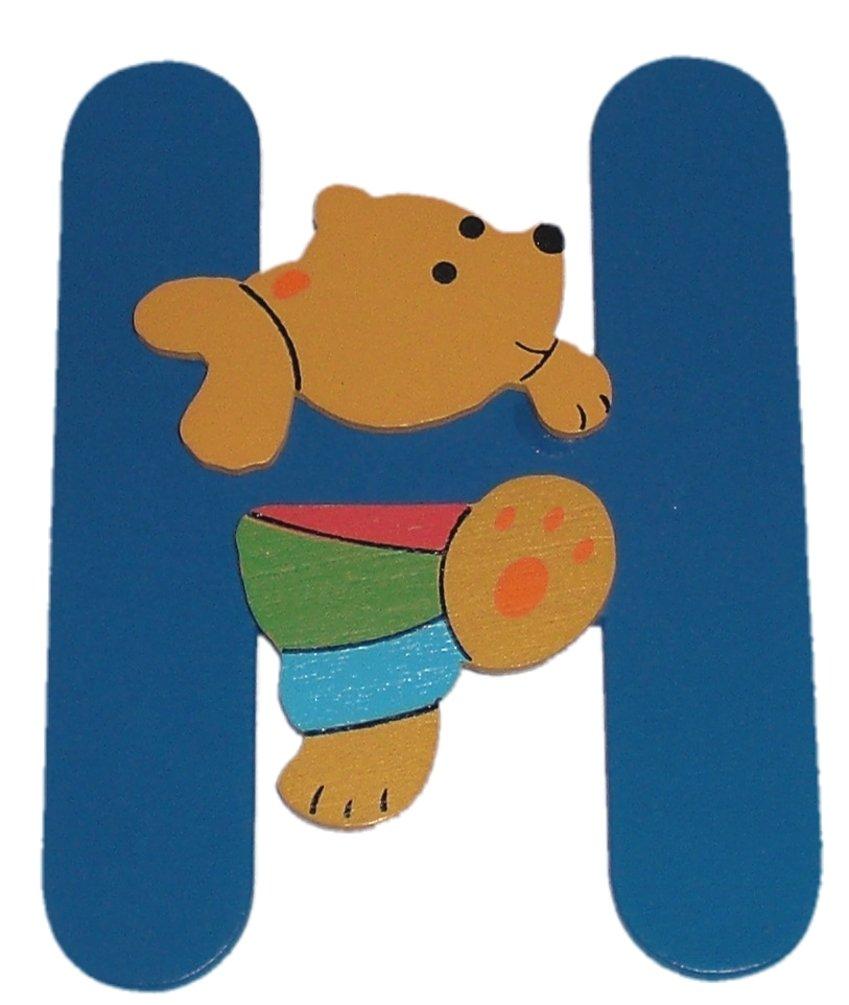 Motiv Tiere f/ür das Kinderzimmer INDIGOS UG zum Spielen f/ür Kinder und Babys Kindergarten Holzbuchstabe Basteln und Sammeln Schule A-Z set of 27