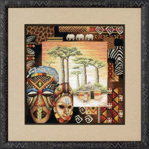 Royal Paris Ambiance Africaine Cross Stitch - Royal Needlepoint Paris