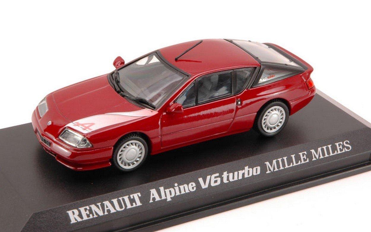 Norev NV517800 Renault Alpine V6 Turbo Mille Miles Bordeaux 1:43 Die Cast Model: Amazon.es: Juguetes y juegos