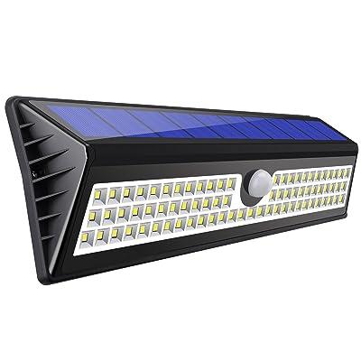 Amir 77 led lampe solaire ext rieure clairage ext rieur tanche sans fil lampe d tecteur de - Eclairage de jardin sans fil ...