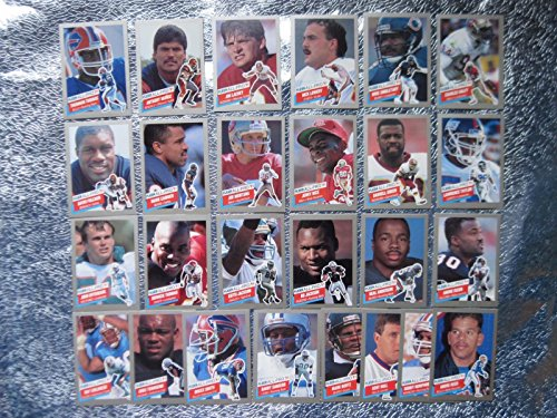 1991 Fleer Football - 1991 Fleer Football All-Pro 26 Card Insert Set includes Barry Sanders, Bo Jackson, Joe Montana