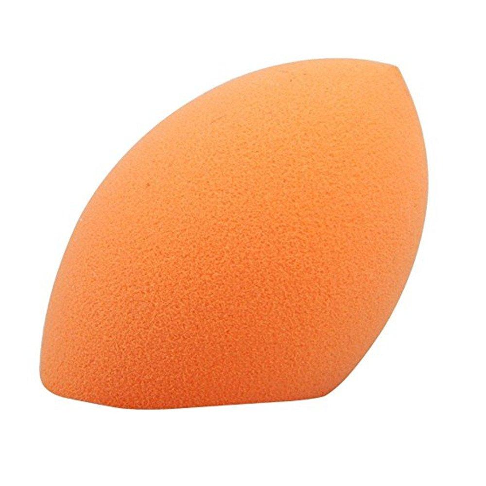Soft Sponge Powder Puff Oblique Cut Make Up Foundation Blender BB Cream Tool(Orange) Qiqilei