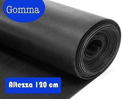 Pavimento In Gomma Antiscivolo : Foll gum tappeto gomma milerighe altezza cm m m
