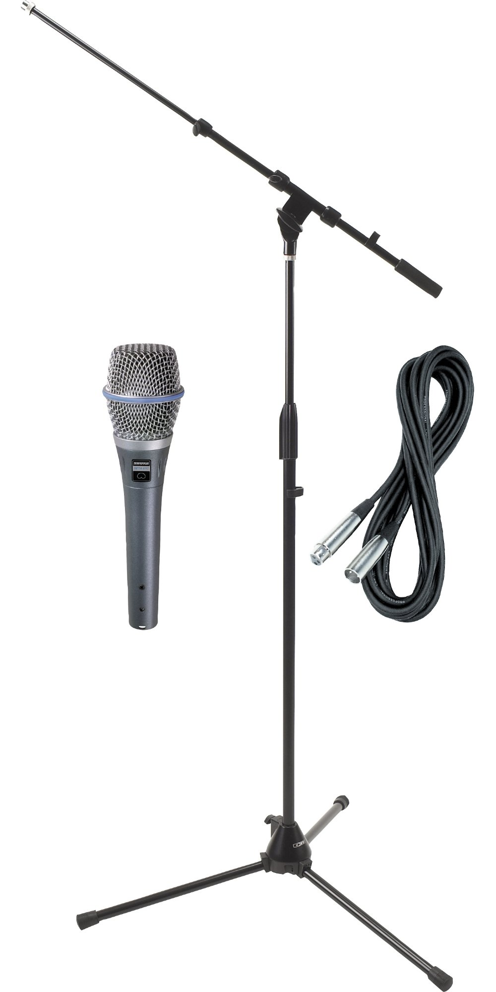 Microfono Shure Beta 87c Hh Condenser Mic With Cable And ..