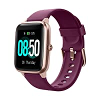 Smart Watch Fitness Tracker Watches for Men Women, Fitness Watch Heart Rate Monitor IP68 Waterproof Digital Watch with Step Calories Sleep Tracker, Smartwatch Compatible iPhone Android Phones
