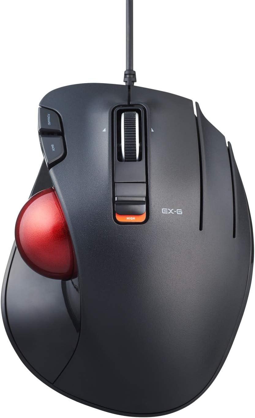BMA-XT2BK Black ELECOM Trackball mouse M-XT2 series EVA Hard Protective Carrying Portable Storage Case Wired /& Wireless
