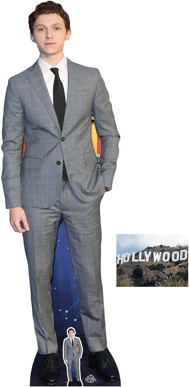 174cm Tall Lifesize Cardboard Cutout Tom Holland aka Spiderman with free mini cut out