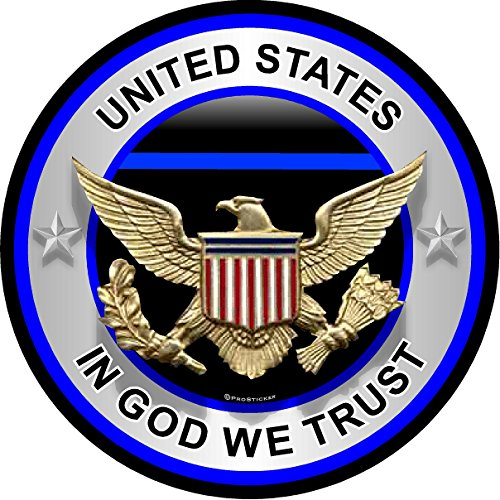 311-ProSticker-One-4-Patriot-Series-United-States-In-God-We-Trust-Thin-Blue-Line-Support-Decal-Sticker