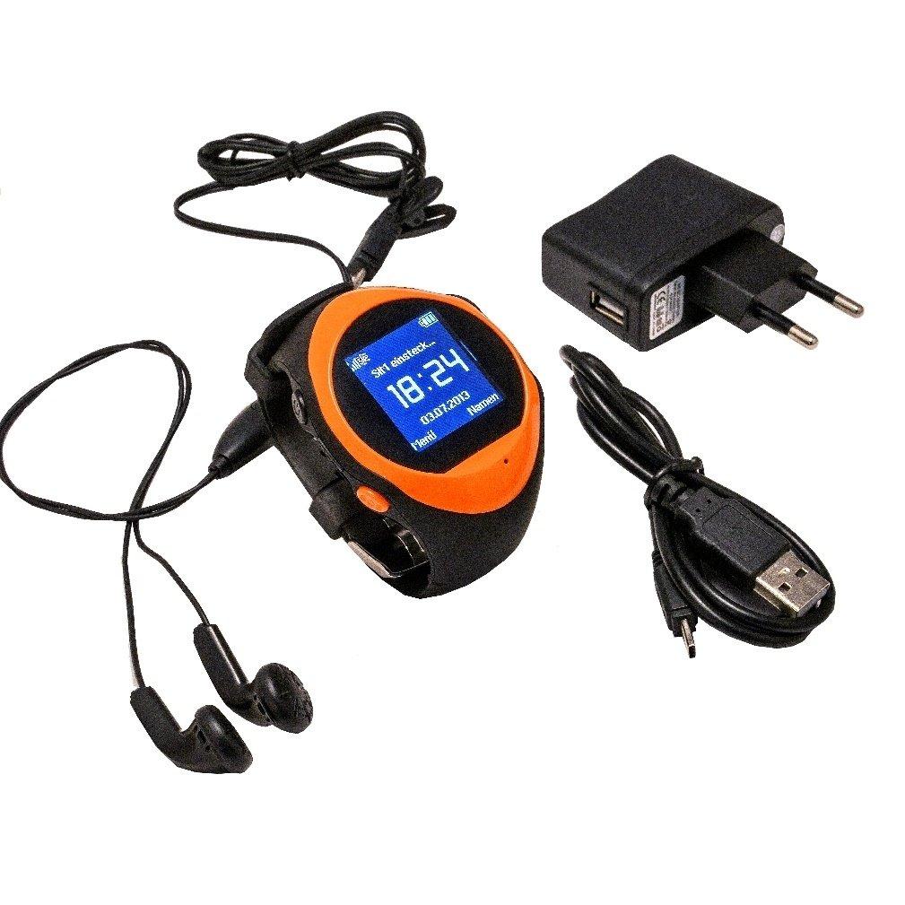 fairtek® F5 notrufuhr Detector de emergencia Localización GPS Rastreador/localizador de dispositivo Tracking geozaun Reloj de emergencia con botón SOS para ...