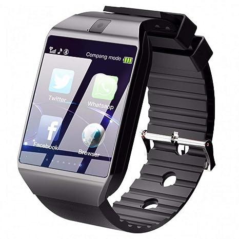 Amazon.com : KLKLTT Bluetooth Smart Watch Dz09 Phone with ...