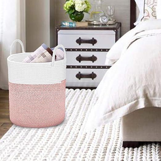 Amazon.com: Spmor - Cestas de almacenamiento de cuerda de ...