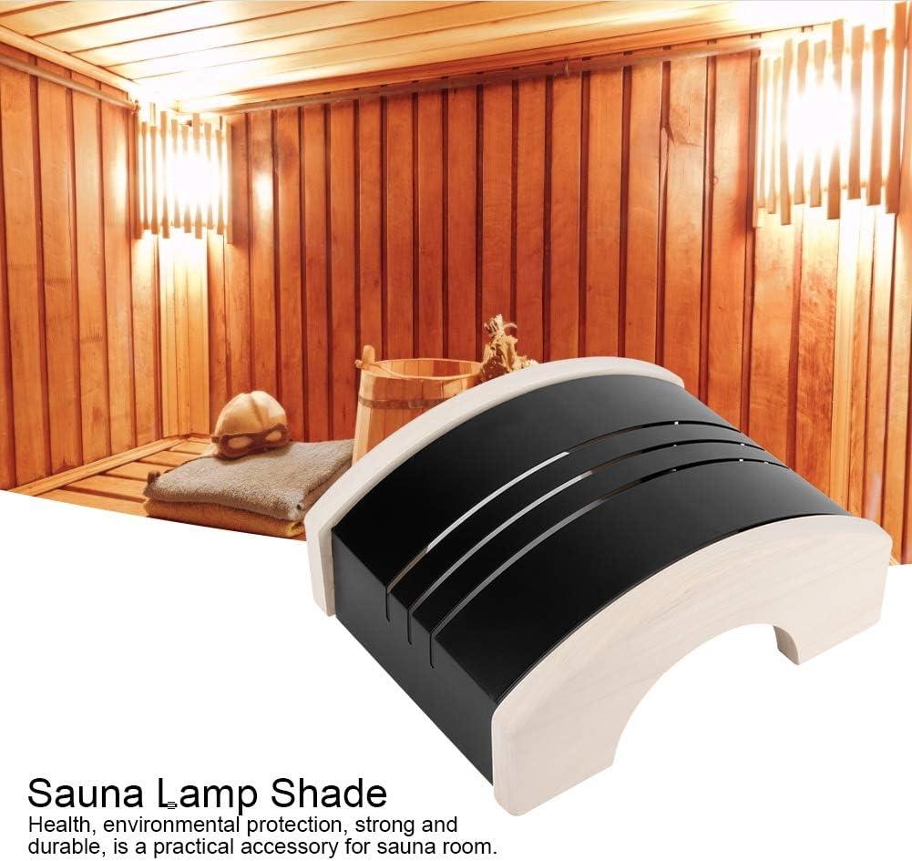 Cikonielf Lampenschirm Dampfsauna Raum Edelstahl Anti-Explosion Lampenschirm Lichtabdeckung Sauna Zubeh/ör