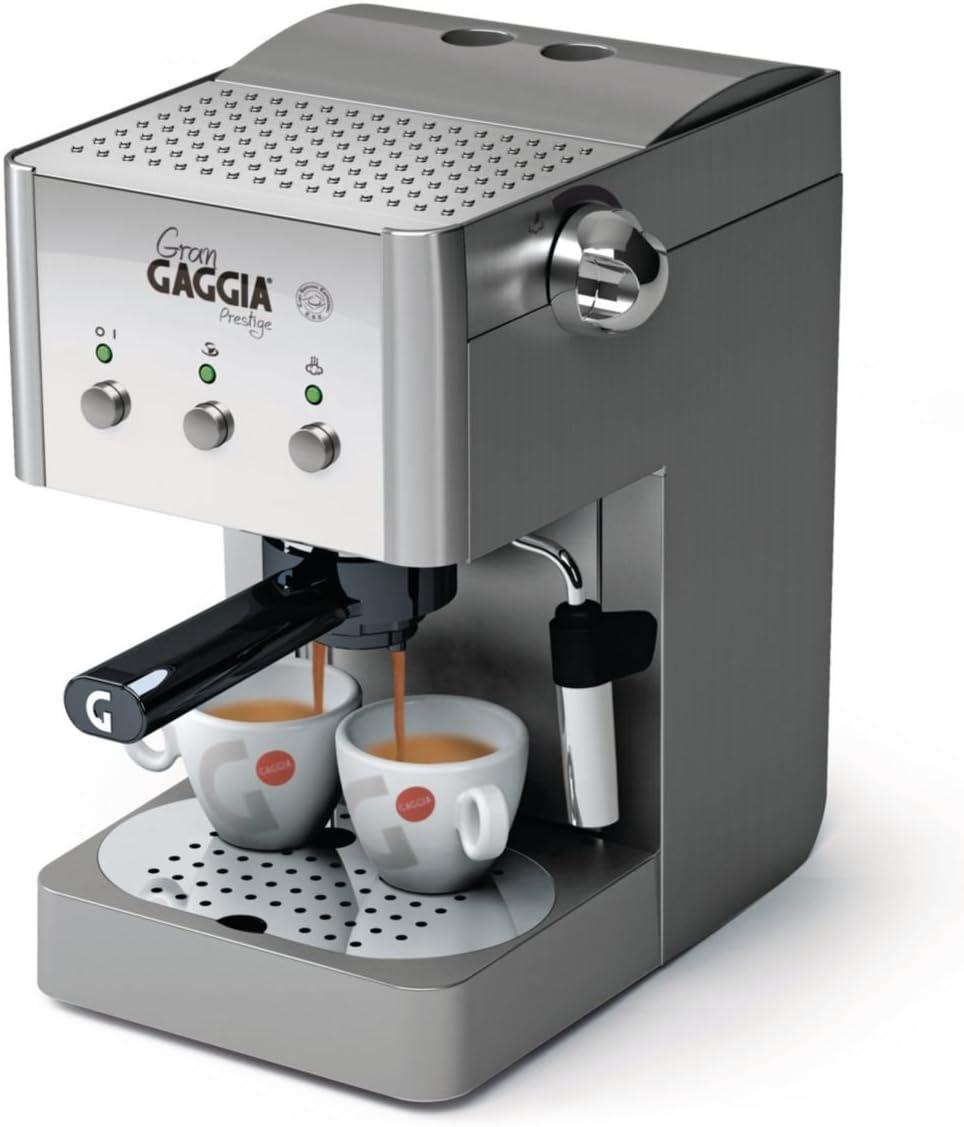 Gaggia RI8327/08 Gran Gaggia Prestige - Cafetera manual (con ...