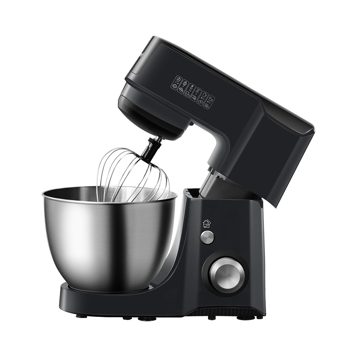 Comfee 4.75Qt 7-in-1 Multi Functions Tilt-Head ABS housing Stand Mixer with SUS Mixing Bowl. 4 Outlets with 7 Speeds & Pulse Control and 15 Minutes Timer Planetary Mixer ¡ by COMFEE' (Image #2)