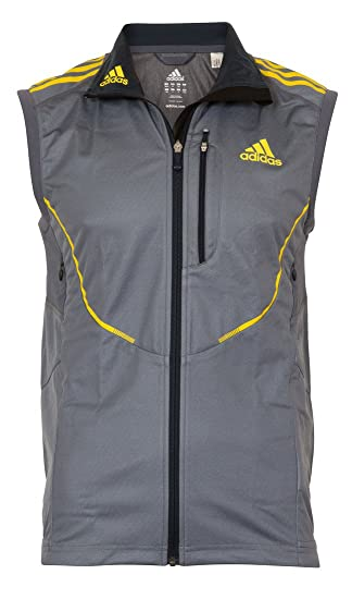 f4d1ba1f954b9 adidas Athletics ClimaWarm Windstopper Mens Cross Country Gilet ...