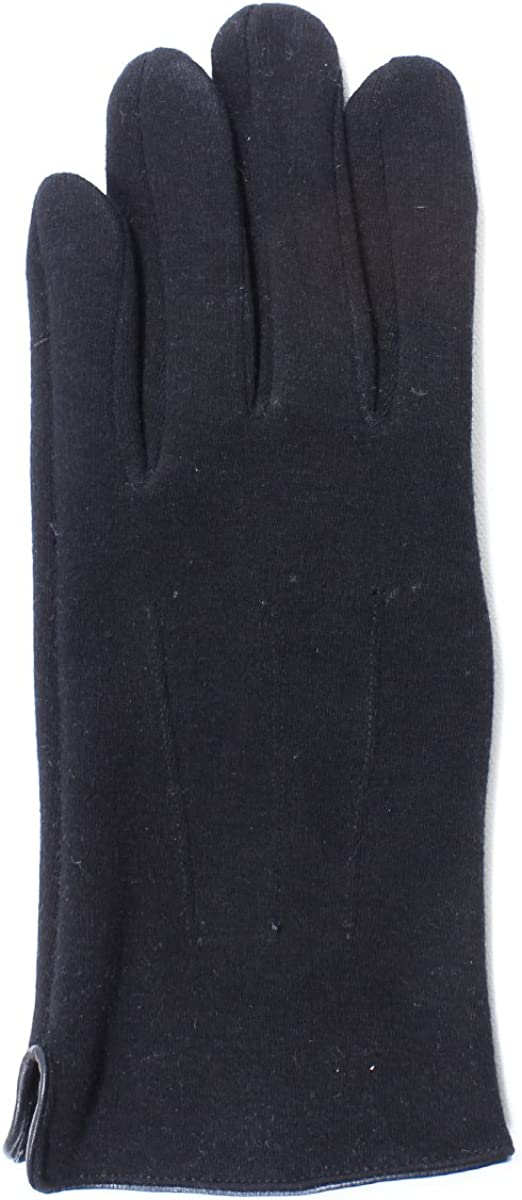 LL- Mens Warm Touch Screen Gloves for Smartphone Texting- Fleece Lined, Driving