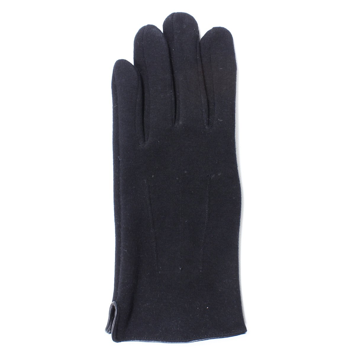 LL- Mens Warm Touch Screen Gloves for Smartphone Texting- Fleece Lined, Midweight (Medium/Large, Black)