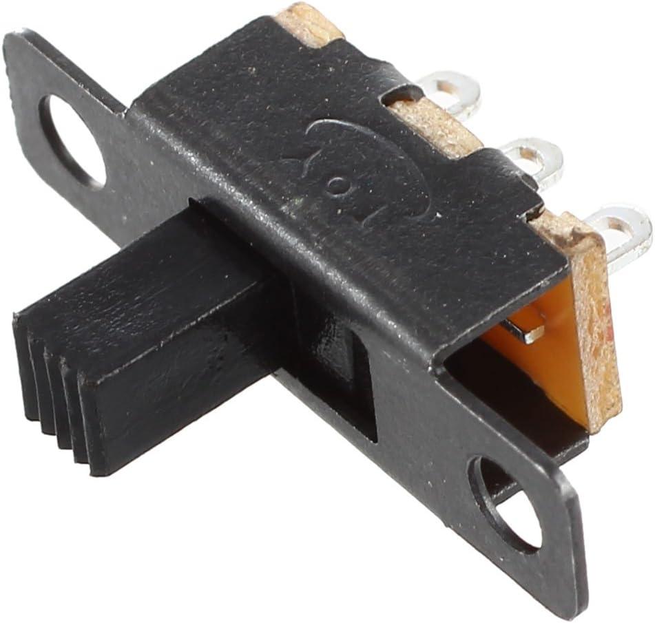 Toolmore SPDT Interruptor Deslizante Miniatura Negro