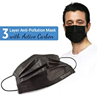 Stylish Disposable Air Pollution Face Mask with Activated Carbon 50 Pcs