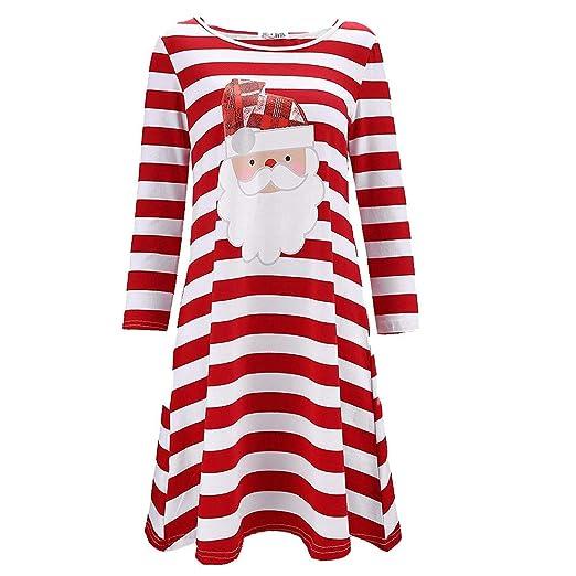 Dacawin_Christmas Dresses Christmas Series Dress-Women Santa Claus Print Long Sleeve Casual Evening Party Mini