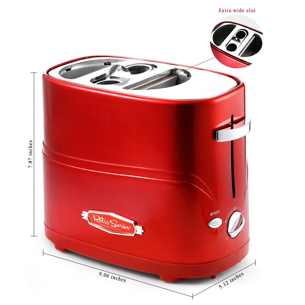 Pop-Up Hot Dog Toaster, ilifesmart Nostalgia Electrics ...