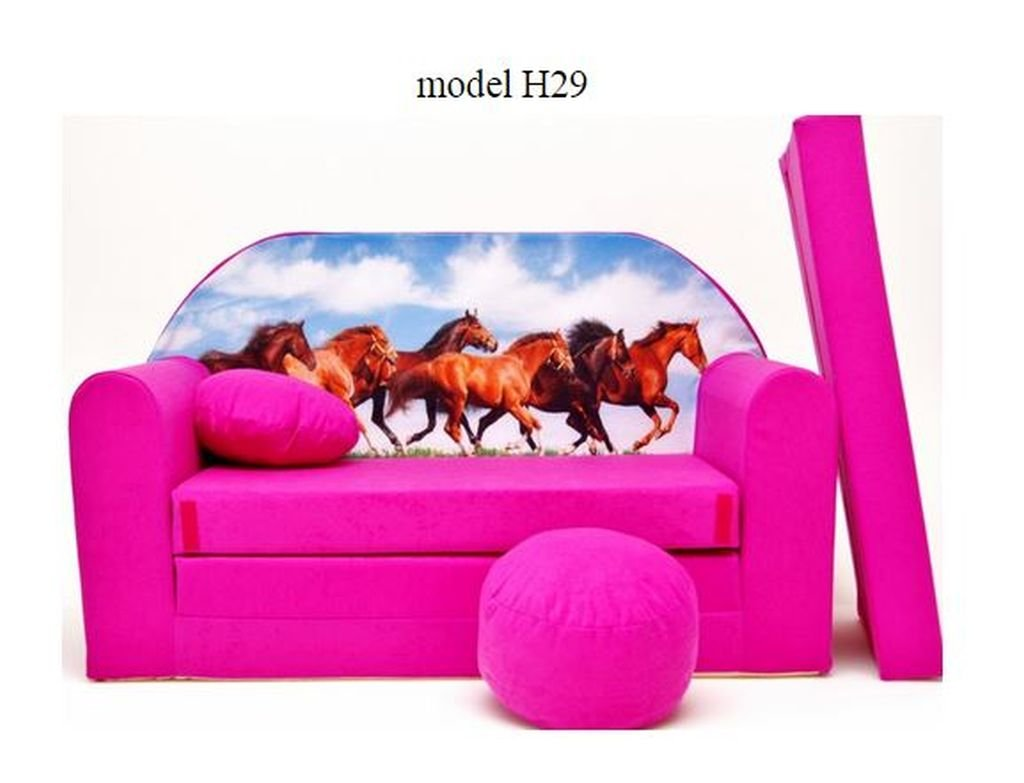 articolicasaonline Sofa Enfant 2 Places Se transforme en Un canapé-lit