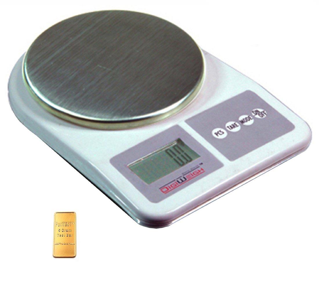 Digiweigh Dwp1001 Digital Scale 1000 X 0.1g Weigh Gram Ounce Oz Grain Gn Carat, Badge, Nugget, Seed Bead