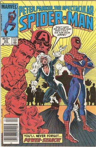 Peter Parker The Spectacular Spider-man #89 Vol. 1 April 1984