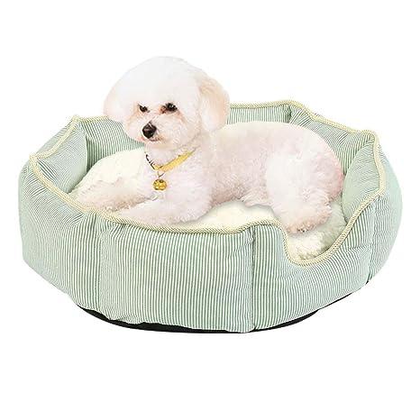 New_Soul Cómodo Cama para Perros o Gatos Casa para Mascotas Cama Mascota Grande Pequeños Suave y