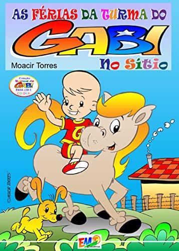 eBook As Férias da Turma do Gabi no Sítio.