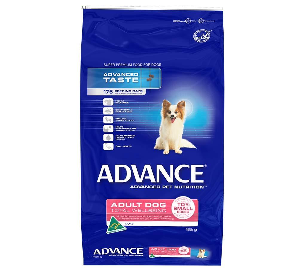 Advance Dog Adult Lamb & Rice Toy Small Breed 15KG (DAATWLRTSB15)