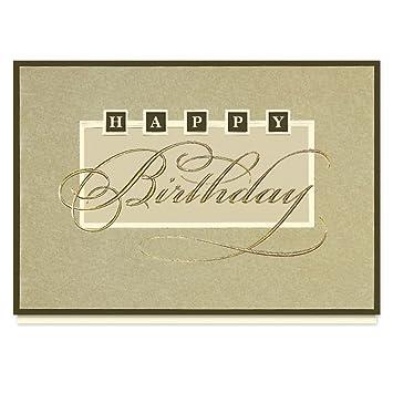 Amazon Elegant Birthday Wishes Greeting Card 25 Premium