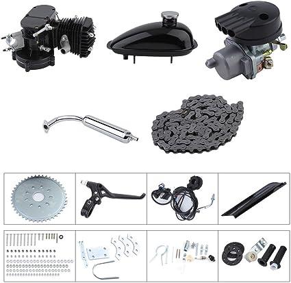 80cc bicicleta motorizada Motor Bike Motor Kit ciclo motor completa Set DIY accesorios de bicicletas: Amazon.es: Coche y moto