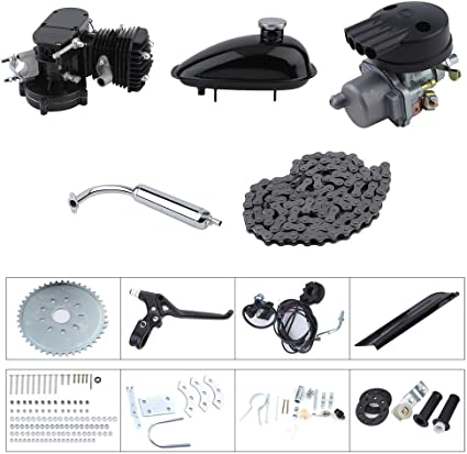 80cc bicicleta motorizada Motor Bike Motor Kit ciclo motor ...