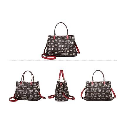 95cdf4eadb57 Amazon.com: Hengxiang Ladies's Bag Morden Autumn and Winter New ...