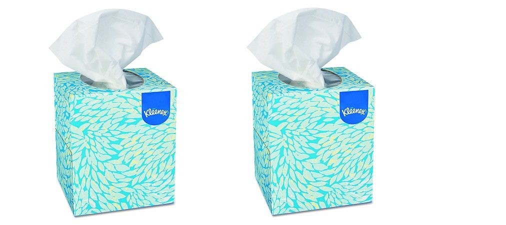 Kleenex 21270CT Boutique White Facial Tissue, 2-Ply, Pop-Up Box, 95 Tissues Per Box (Box of 36) (2-(Box of 36))
