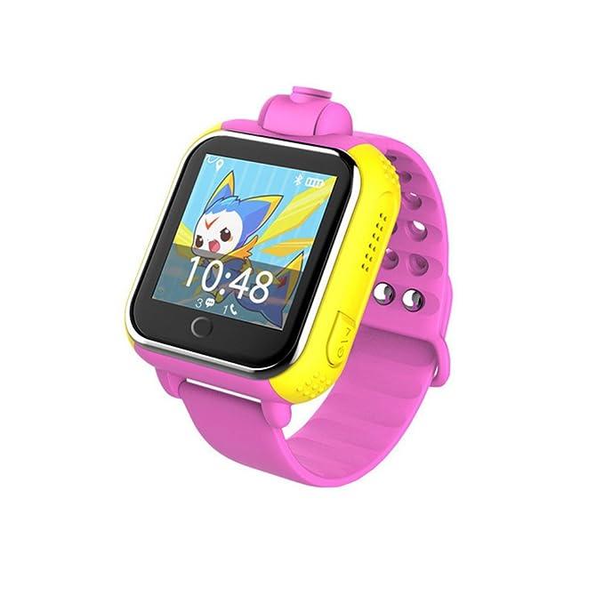 3 G Tarjeta Inteligente Reloj GPS Tracker Kids Smartwatch muñeca ...
