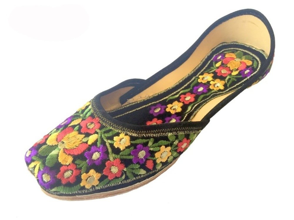Step n Style Women's Leather Jutti Shoes US 8 Multi-Coloured