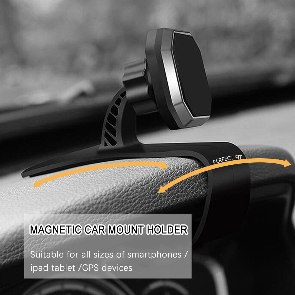 Car Phone Mountlinycase Magnetic Mount Fdt Holder Motor Universal Mountadjustable Dashboard With Strong Magnet For Iphone 8 8plus Xsamsung Galaxy