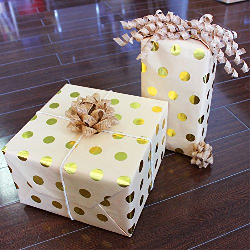 Recycled Kraft Wrapping Paper - 8