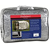 ProSelect Solar Crate Canopies  -  Protective Coverings for Dog Crates - 10' x 12', Silver
