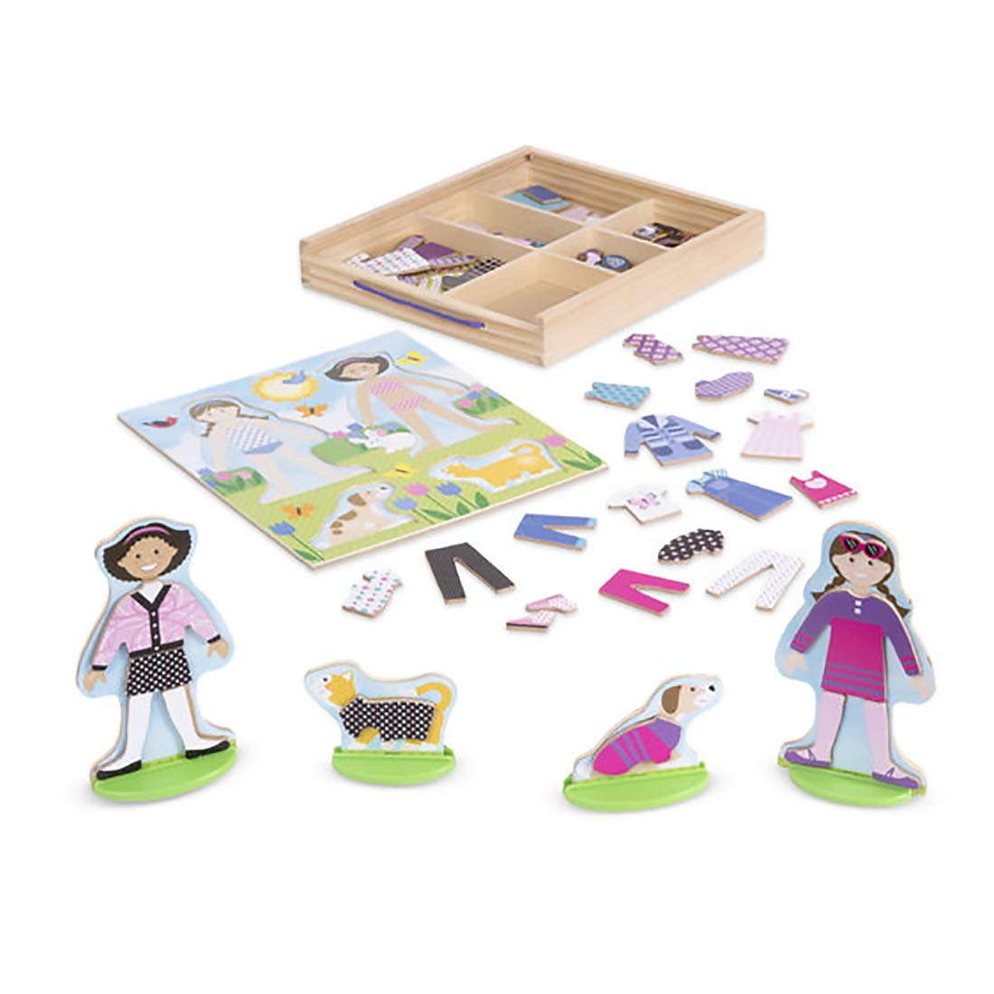 Best Friends Magnetic Figures Dress-Up Play Set - 3+ Years - 78 Pieces