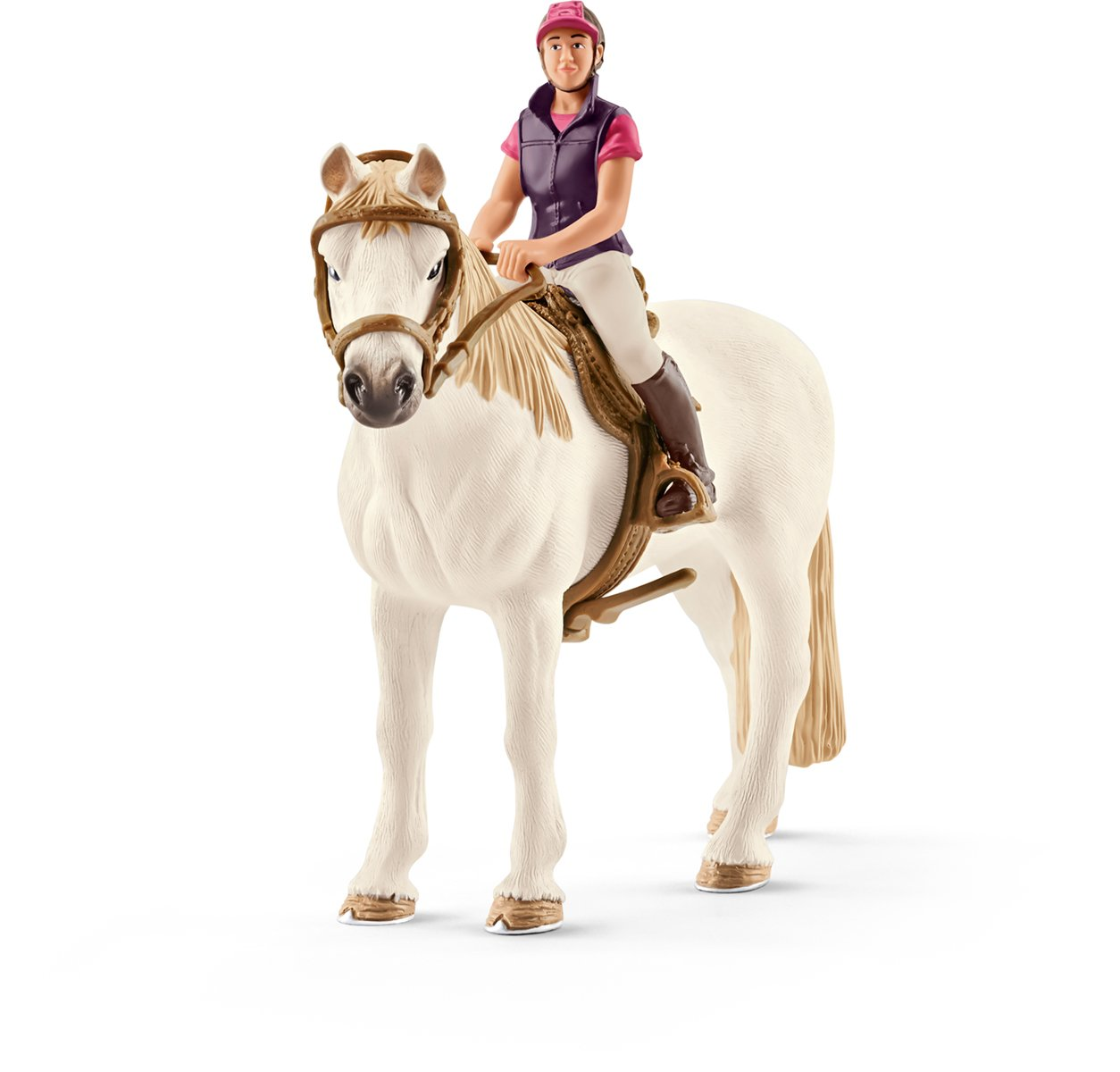 Schleich 42359 - Freizeitreiterin mit Pferd Figur