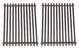 "Hongso 15"" 304 Stainless Steel Cooking Grid Grates for Weber Spirit E-210, Spirit S 200 & 210, Genesis Silver A, Spirit 500 Gas Grills, 7521 65905 7522 7523 65904 SCG521"